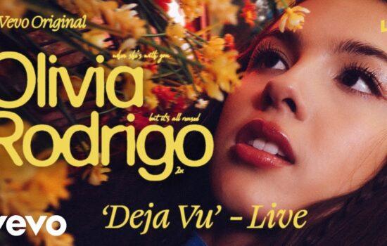 Performing 'deja vu' @ Vevo LIFT